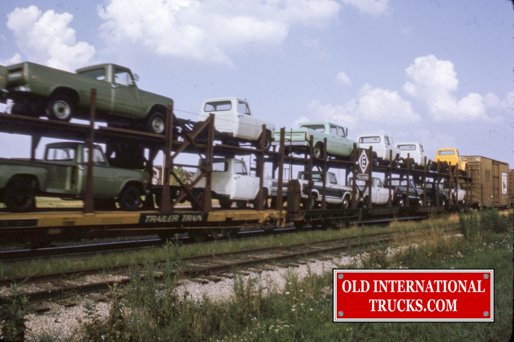 "1973 International pick ups on the rail car for deliver <div class=""download-image""><a href=""https://oldinternationaltrucks.com/wp-content/uploads/2017/12/img043-1.jpg"" download><i class=""fa fa-download""></i> <span class=""full-size""></span></a></div>"