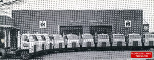 A fleet of new CO405 cab over Intenational trucks