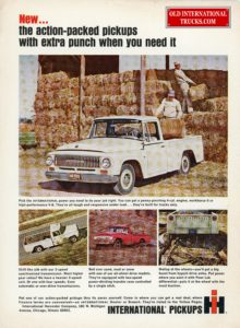 1965 D1000 PICK UP WITH INDEPENTED FRONT END