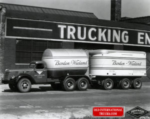 "1939 DRD-346-T, HB 600 cummins, rear tag axle, Fruehauf trailer <div class=""download-image""><a href=""https://oldinternationaltrucks.com/wp-content/uploads/2017/12/img552.jpg"" download><i class=""fa fa-download""></i> <span class=""full-size""></span></a></div>"