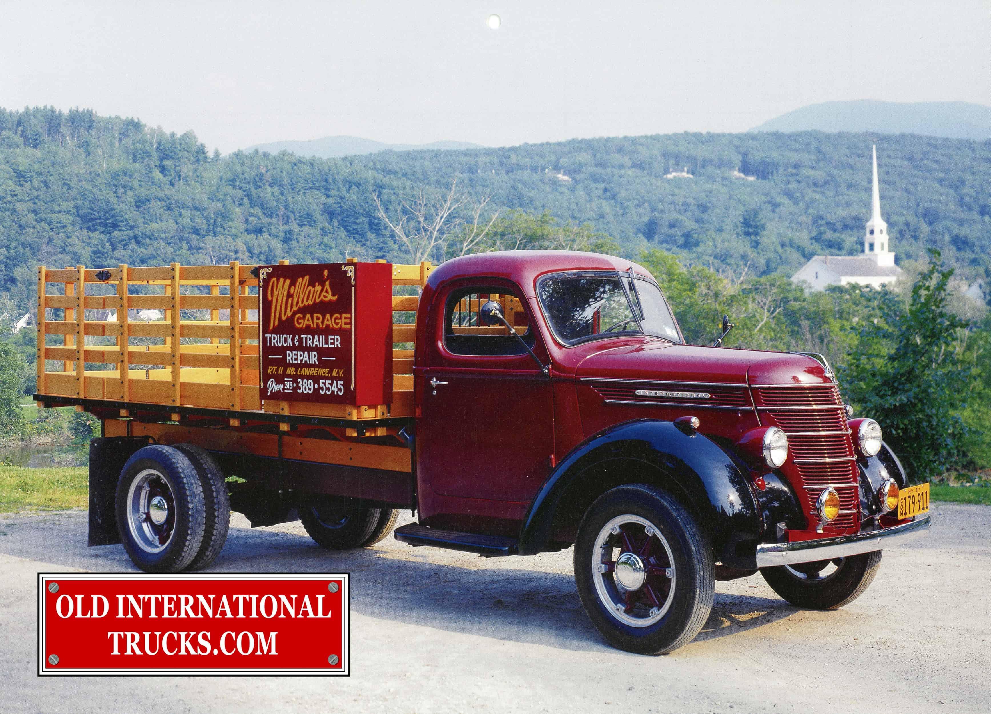 International Photo Archives • Old International Truck Parts