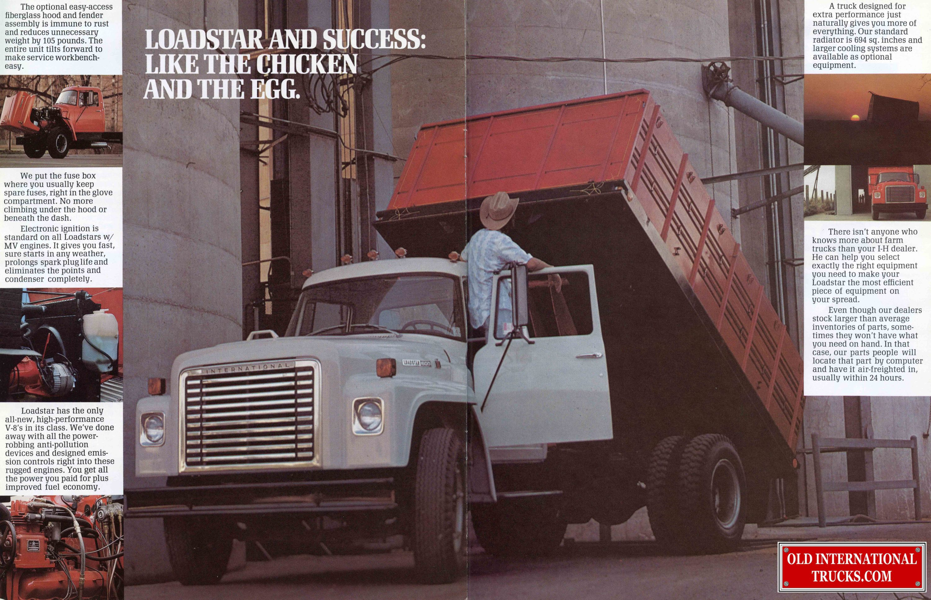 Old International Ads From The Loadstar • Old International Truck Parts