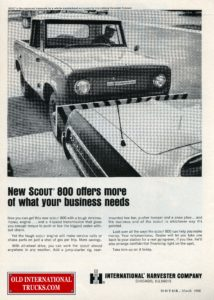 """1966 SCOUT 800  <div class=""""download-image""""><a href=""""https://oldinternationaltrucks.com/wp-content/uploads/2017/12/new-scout-800-offers-more-of-what-your-business-needs.jpg"""" download><i class=""""fa fa-download""""></i> <span class=""""full-size""""></span></a></div>"""