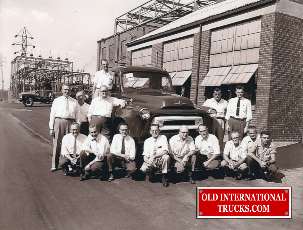 "1956 S-Line with Plant Staff <div class=""download-image""><a href=""https://oldinternationaltrucks.com/wp-content/uploads/2018/04/1956-S-LINE-WITH-PLANT-STAFF-.jpg"" download><i class=""fa fa-download""></i> <span class=""full-size""></span></a></div>"