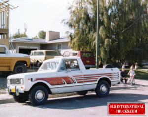 "Georges first company truck. september 01 1978 this was a 1976 scout terra pick -up 2 whel drive <div class=""download-image""><a href=""https://oldinternationaltrucks.com/wp-content/uploads/2019/02/img486.jpg"" download><i class=""fa fa-download""></i> <span class=""full-size""></span></a></div>"