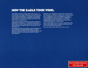"""Eagle Conventional  <div class=""""download-image""""><a href=""""https://oldinternationaltrucks.com/wp-content/uploads/2019/07/Eagle-14.jpg"""" download><i class=""""fa fa-download""""></i> <span class=""""full-size""""></span></a></div>"""