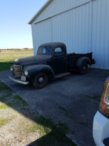"Steve Storey 1949 KB-2, Was His Grandfathers truck.  Less than 16000 Miles on it.  <div class=""download-image""><a href=""https://oldinternationaltrucks.com/wp-content/uploads/2020/05/Steve-Storey-1.jpg"" download><i class=""fa fa-download""></i> <span class=""full-size""></span></a></div>"