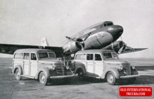 """1940 D-2 Woody Wagons <div class=""""download-image""""><a href=""""https://oldinternationaltrucks.com/wp-content/uploads/2021/02/1940-D-2-Woody-Wagons.jpg"""" download><i class=""""fa fa-download""""></i> <span class=""""full-size""""></span></a></div>"""