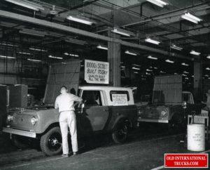 "Scout 80 in Fort Wayne factory <div class=""download-image""><a href=""https://oldinternationaltrucks.com/wp-content/uploads/2021/02/Scout-80-in-Fort-Wayne-factory.jpg"" download><i class=""fa fa-download""></i> <span class=""full-size""></span></a></div>"